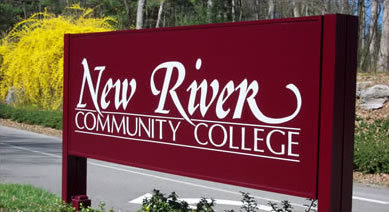 sign :: New River Community College