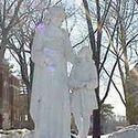 statue :: La Salle University