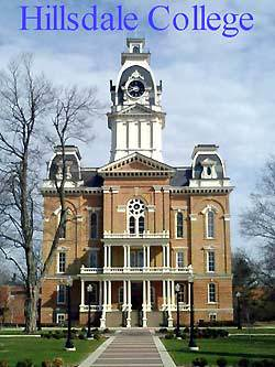 College ClockTower :: Hillsdale College