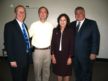 Ernest Moreno, College President(Extreme Right) :: East Los Angeles College