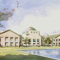 University Campus in Art :: Charleston Southern University