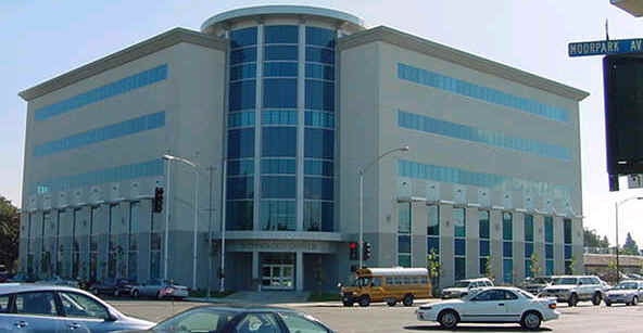 College Front View :: San Jose City College