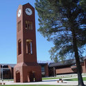 Bell Tower inside the campus :: Eastern Arizona College