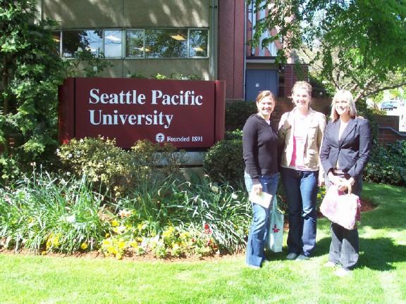 College campus :: Seattle Pacific University