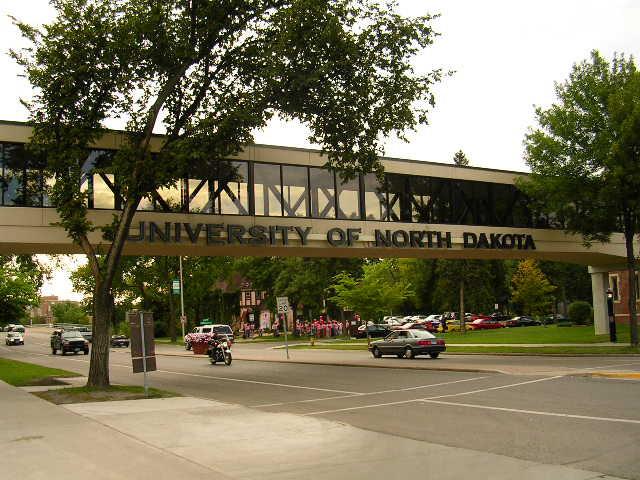 college Campus :: University of North Dakota