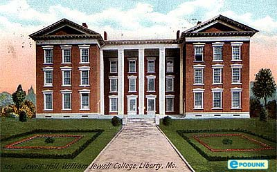 College Building :: William Jewell College