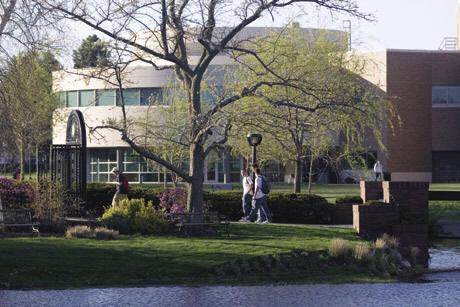 College campus :: Bryant University