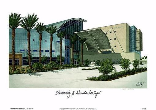 college Campus :: University of Nevada-Las Vegas
