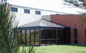 College Building :: Allen County Community College