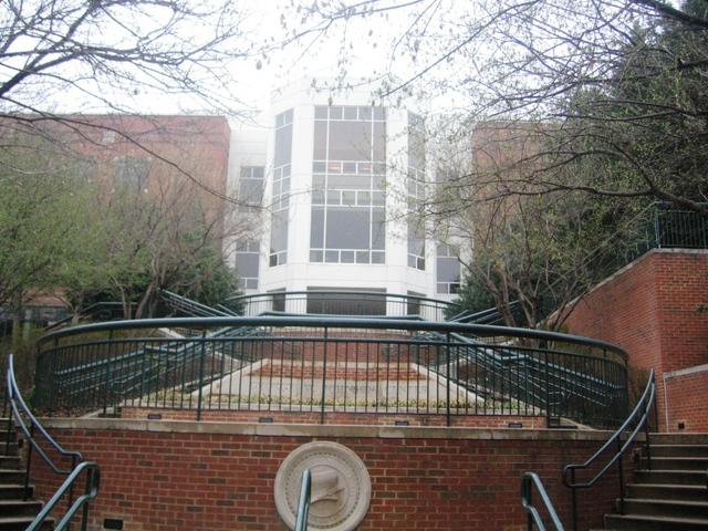 Entrance to the Johnson Center, Fairfax Campus :: George Mason University