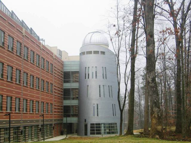Research Center with an Observatory, Fairfax Campus :: George Mason University