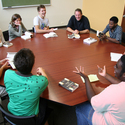 Shimer College Students in Discussion :: Shimer College