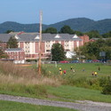 Overlooking Campus during Soccor Practice :: Potomac State College of West Virginia University