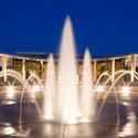 Purser Center and Fountain on Logan Campus :: Logan University