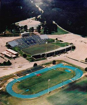 Aerial- Joe Aillet Stadium :: Louisiana Tech University