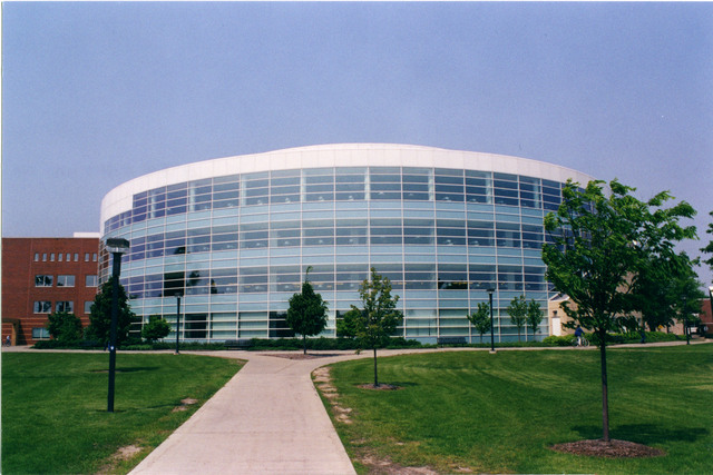 Library Entrance :: Central Michigan University